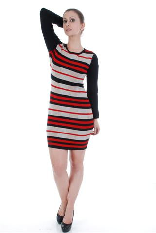 SWEATER DRESS 1780-1 - FTX Clothing