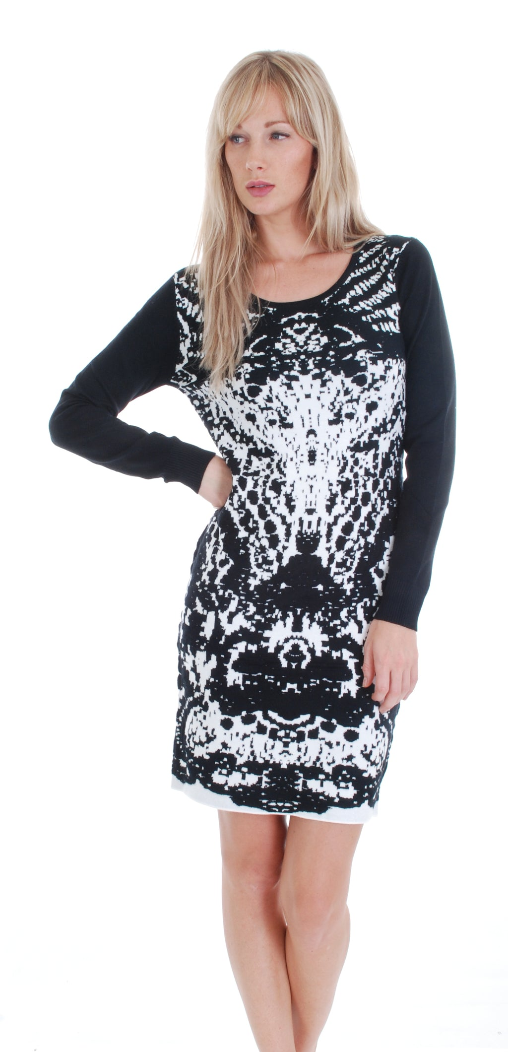 SWEATER DRESS 3281 - FTX Clothing