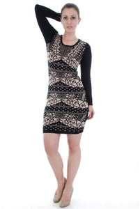 SWEATER DRESS 8029-211 - FTX Clothing