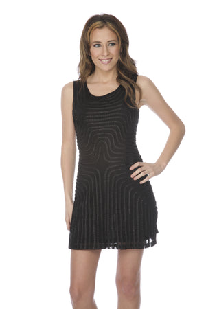 SHORT BLACK DRESS - FTX Clothing