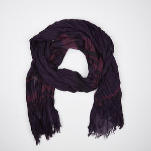 Purple Cotton Scarf - FTX Clothing