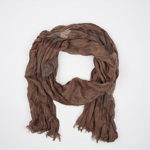 Chocolate Cotton Scarf - FTX Clothing
