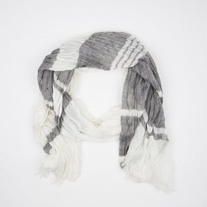 White Cotton Scarf - FTX Clothing