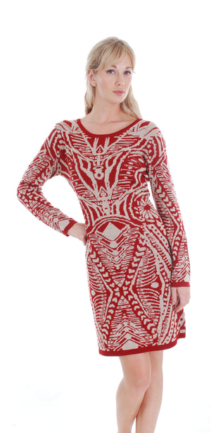 SWEATER DRESS Y107A - FTX Clothing