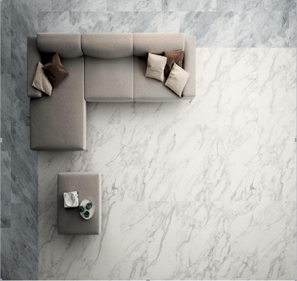 Diamond marble glazed porcelain tiles