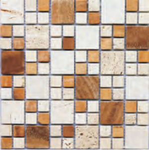 Marble mosaic MB043F