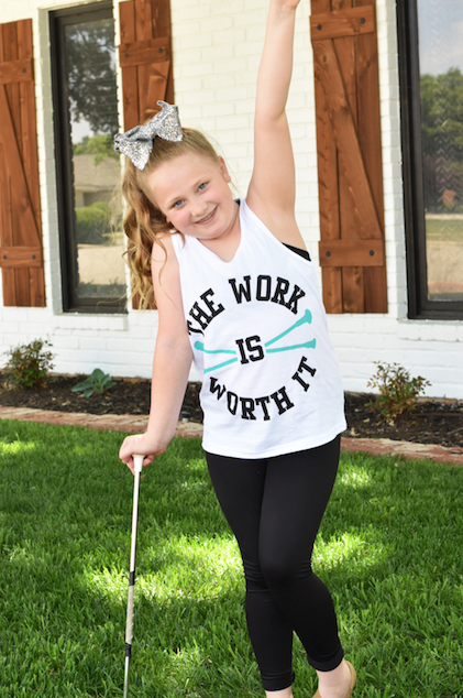 Work Twirl Tank Youth