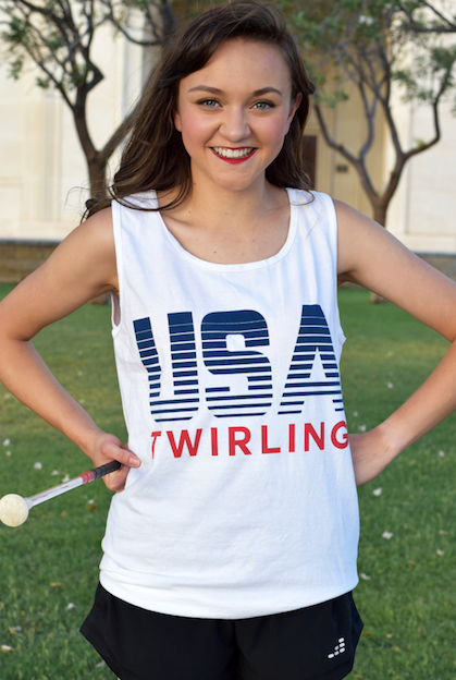 USA Twirling Tank Adult