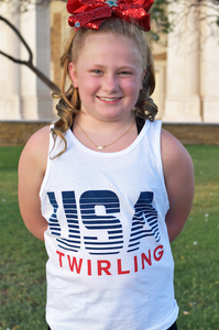 USA Twirling Tank Youth