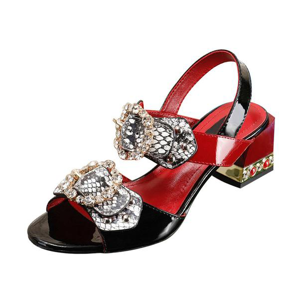 Crystal Buckle Shoes