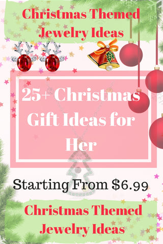 25 Unique Christmas Themed Jewelry Gift Ideas For Her Olio71