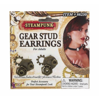 Earrings- Gear Studs