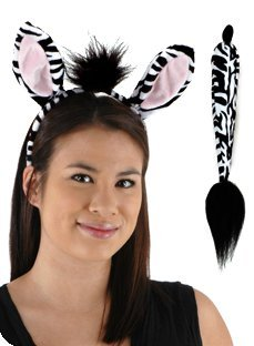 Zebra Ears & Tail