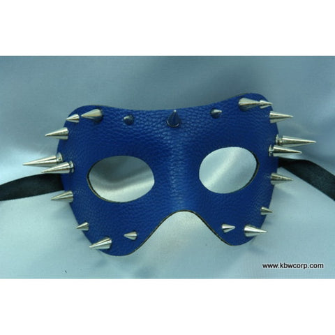 Mask - Leather Spikes