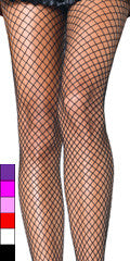 Stockings- Full Length Fishnets (Multiple Colors)