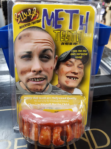 Fake Teeth - Meth Addict