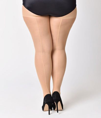 Stockings- Sheer with Seam