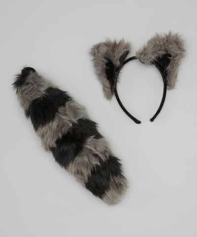 Raccoon Ears and Tail