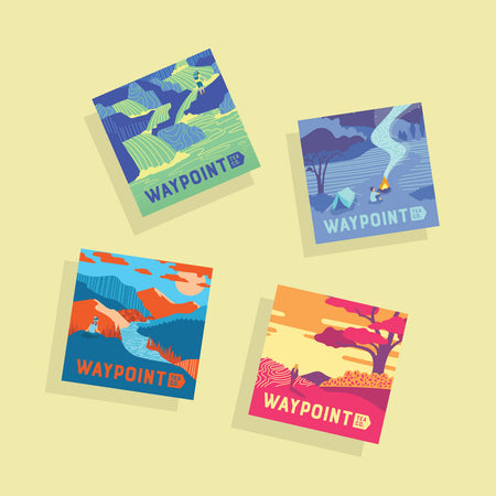 Waypoint Limited Edition Stickers
