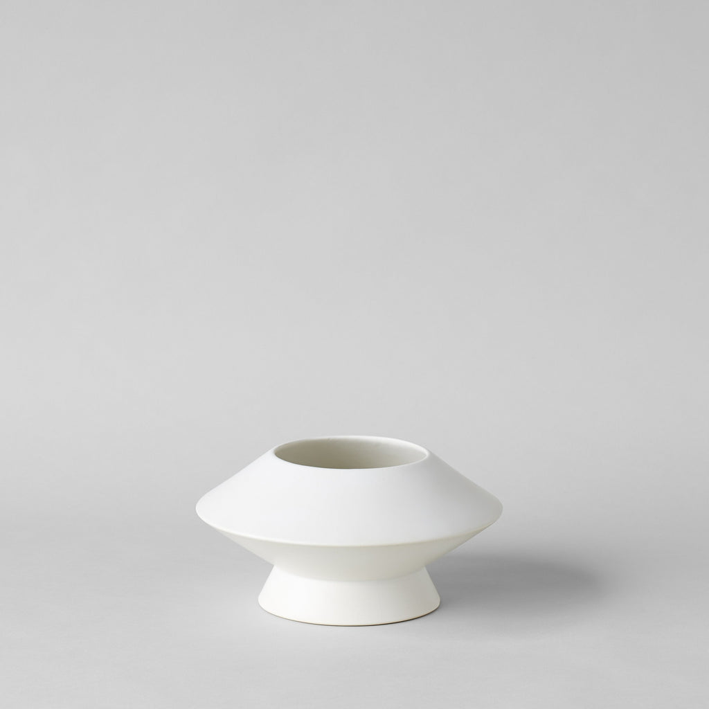 Medium Kado Vase, Matte White - Bloomist