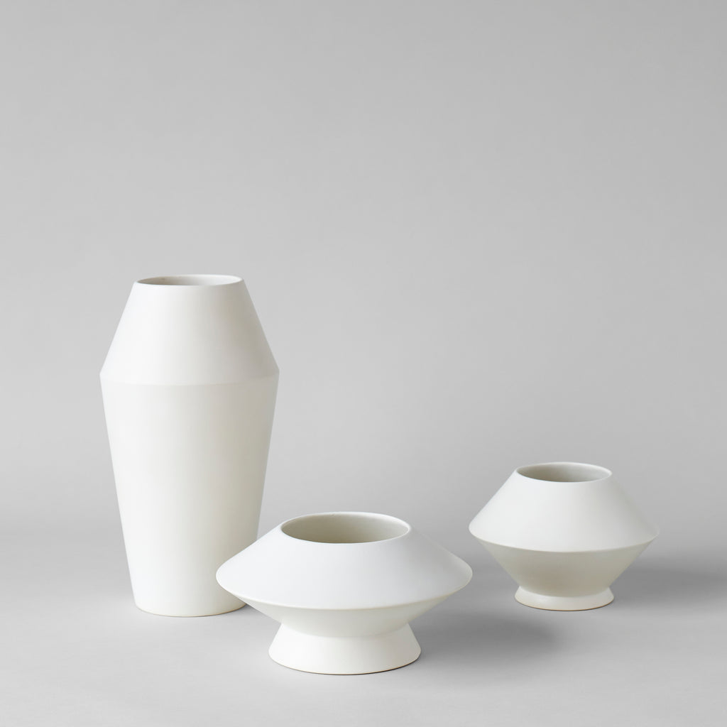 Small Kado Vase, Matte White - Bloomist