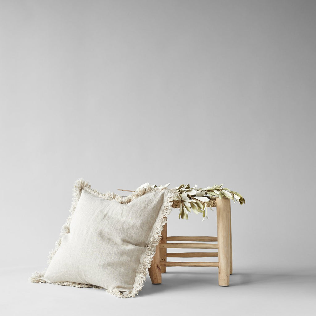 Linen Pillow in Natural 20x20 - Bloomist