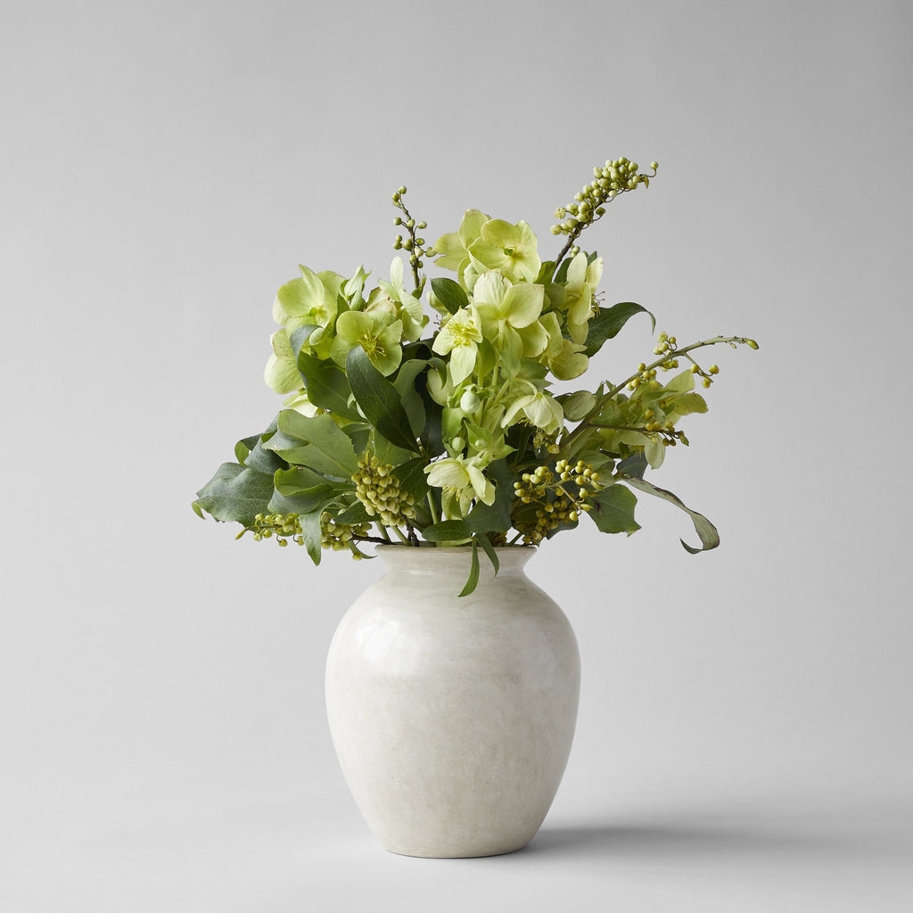 Natural Tadelakt Vase, Small - Bloomist