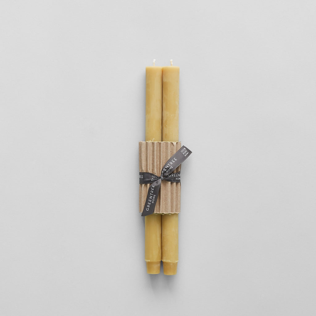 Beeswax Church Tapers, Natural
