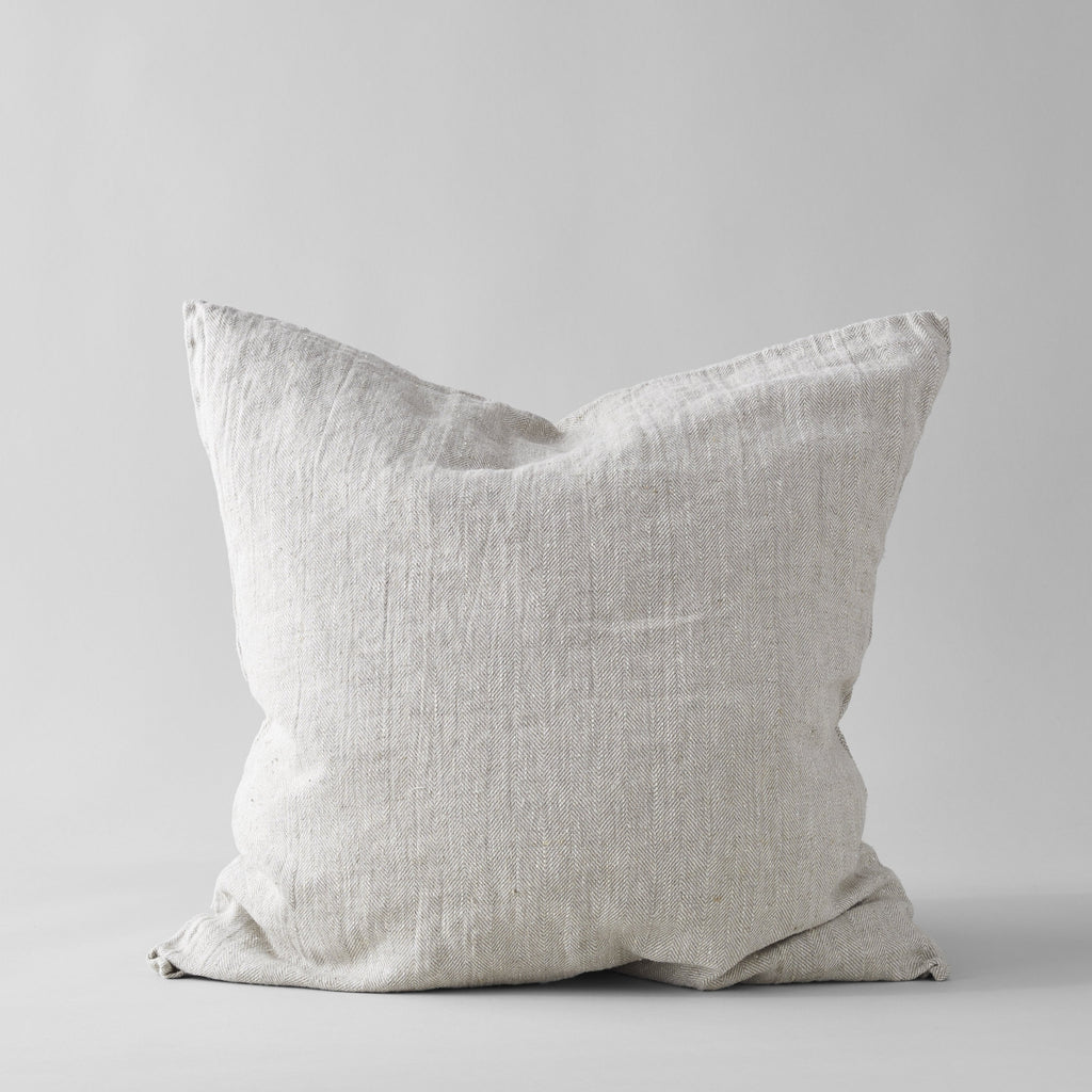 Linen Pillow in Natural 26 x 26 - Bloomist