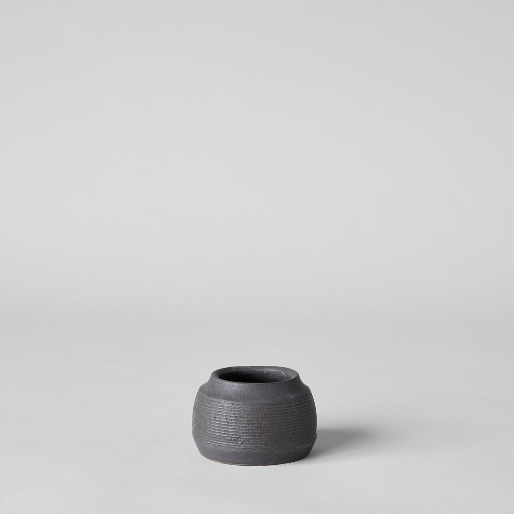 Stoneware Match Strike Pot - Bloomist