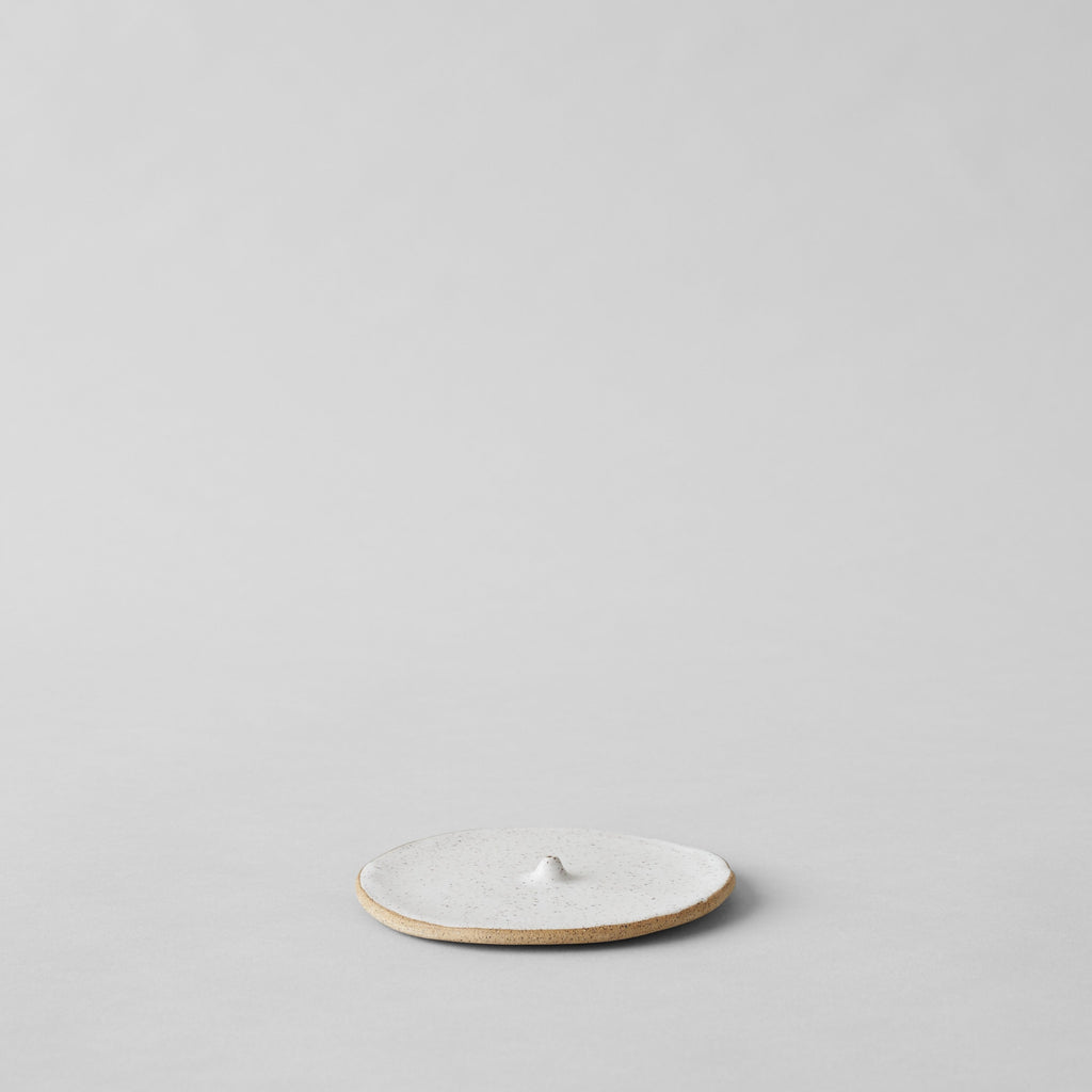Incense Holder, Speckled White - Bloomist