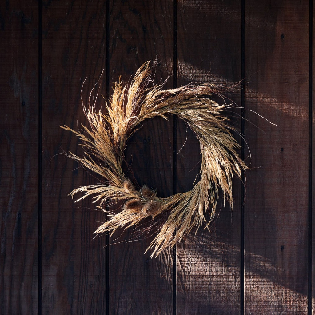 Dried Meadow Wreath