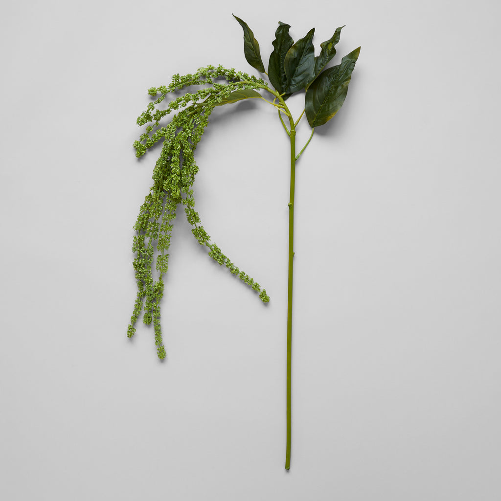 EcoFaux Artificial Green Amaranthus Decoration