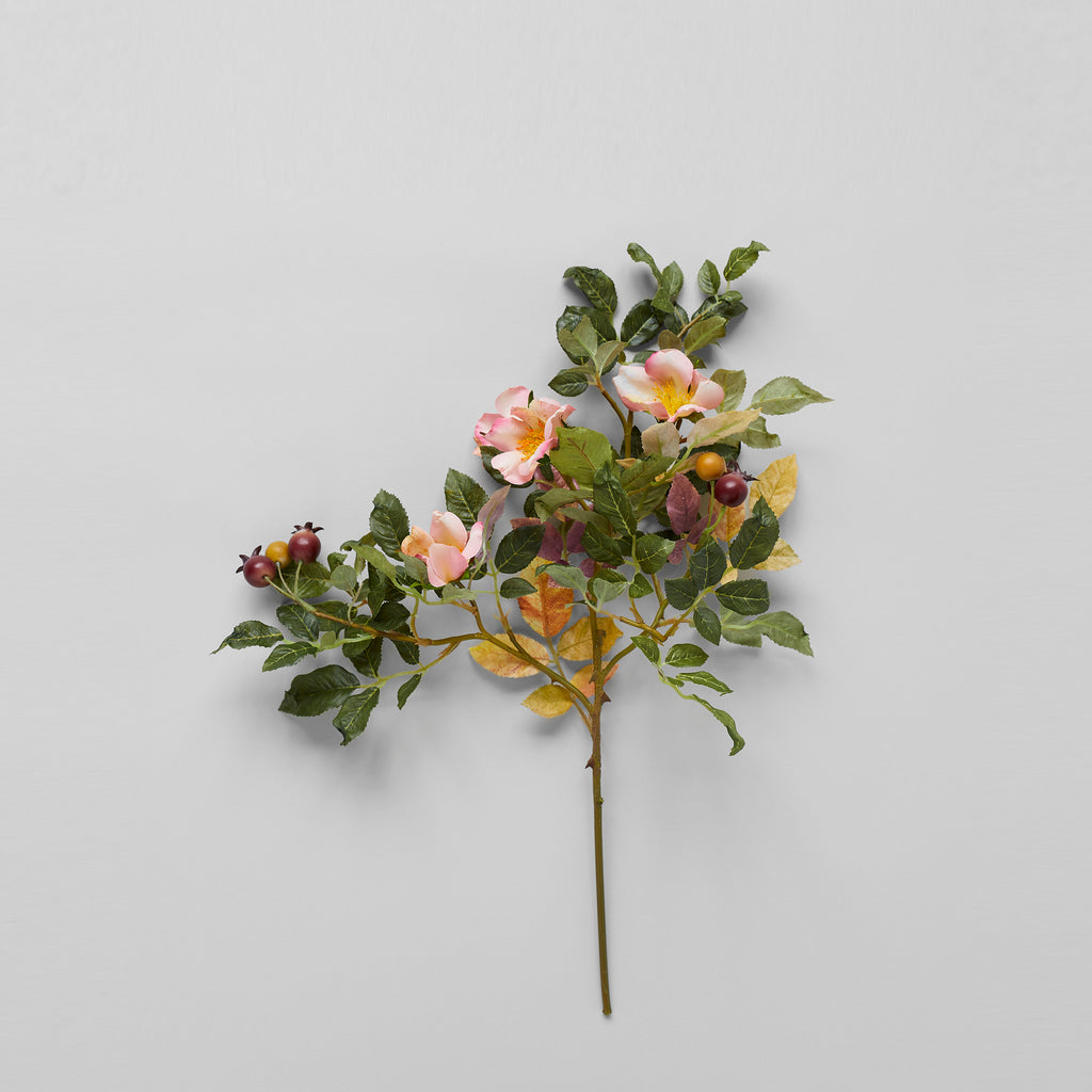 EcoFaux Heirloom Rose Stem, 19'' - Bloomist