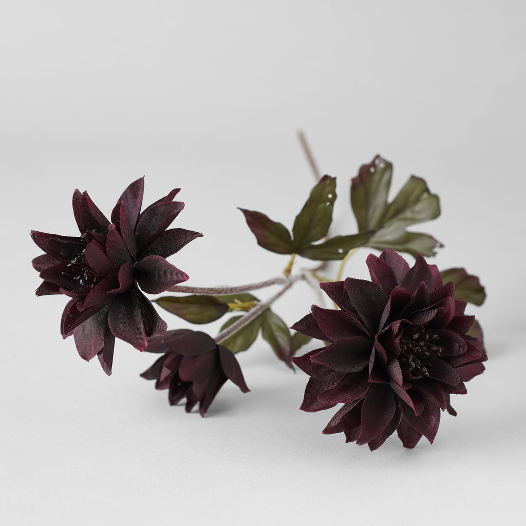 EcoFaux Black Barlow Stem - Bloomist