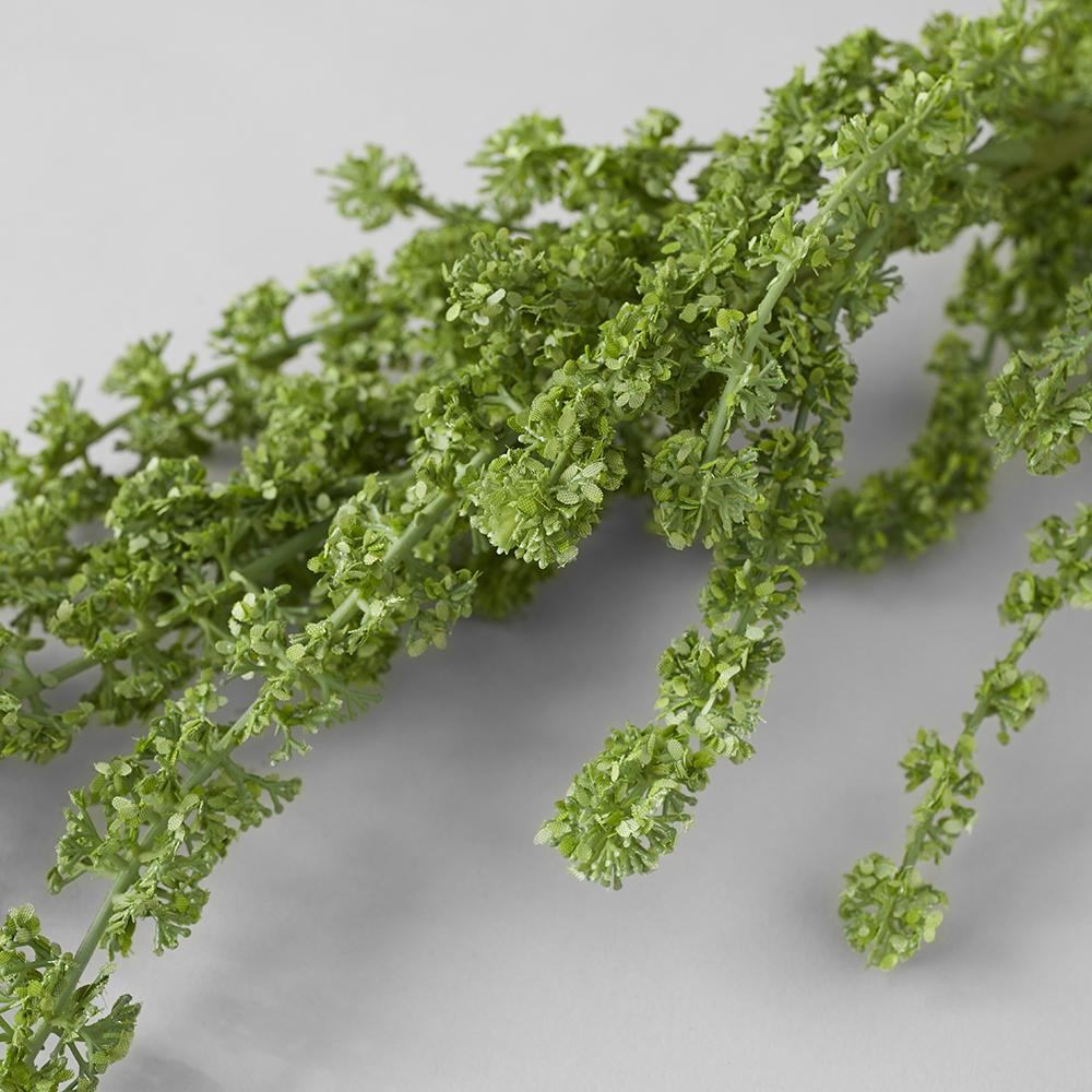 Faux Green Amaranthus Spray