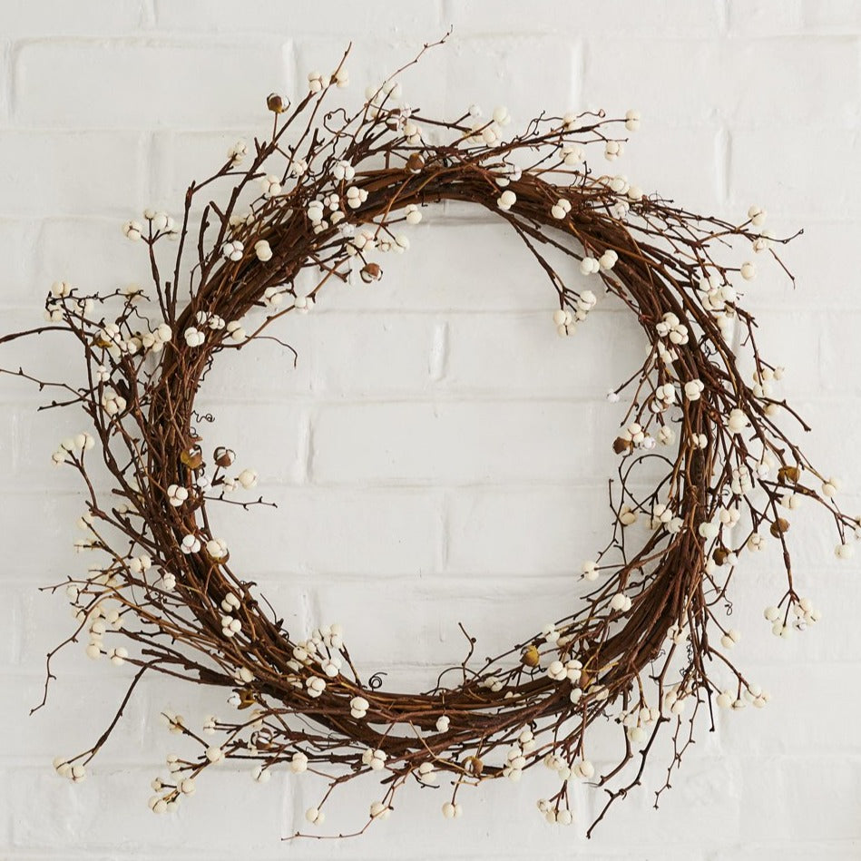 EcoFaux Tallow Berry Wreath