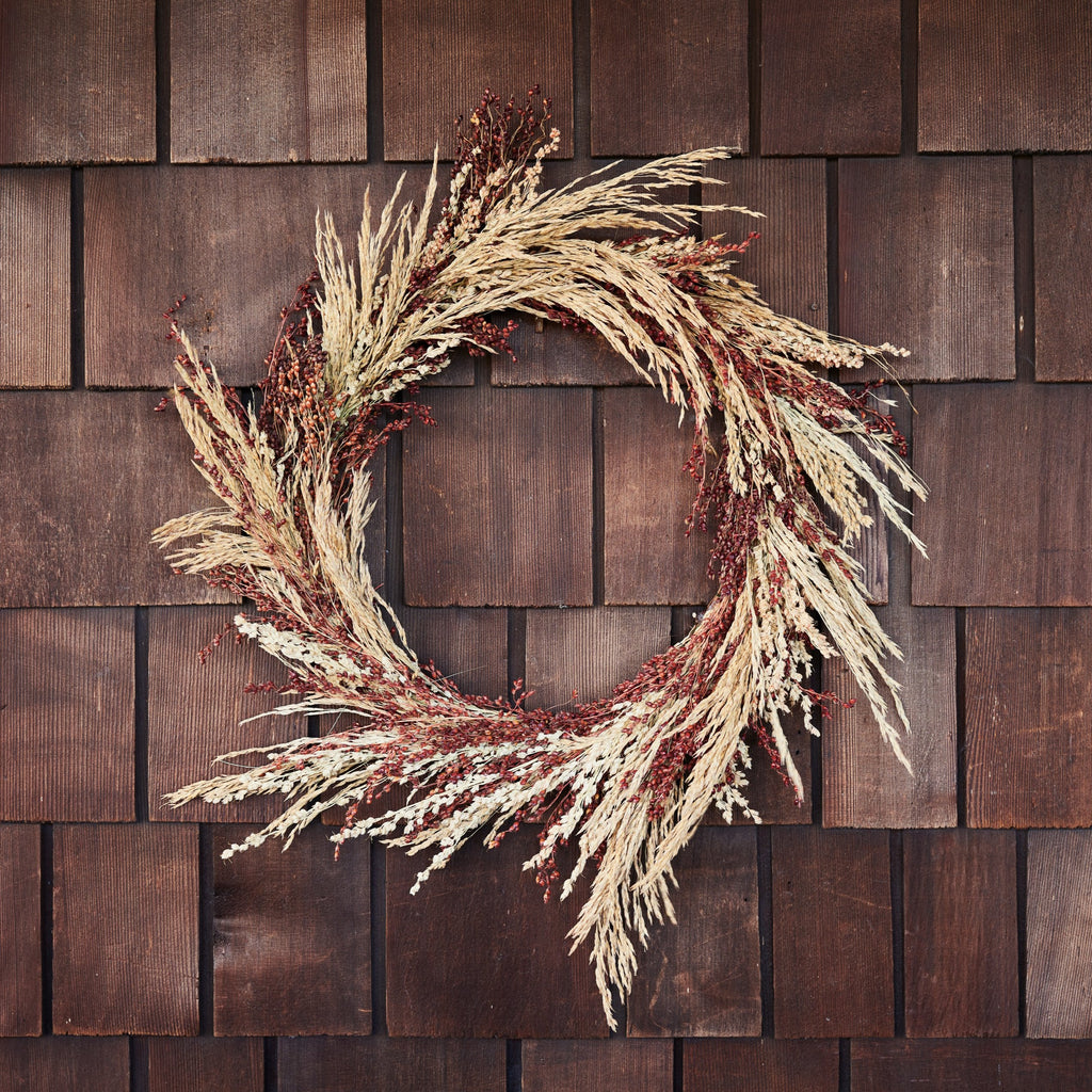 Dried Harvest Wreath