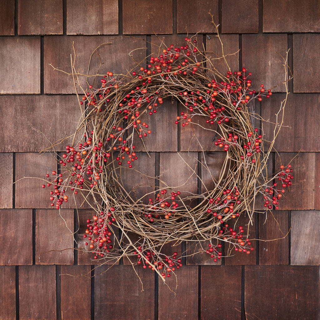 EcoFaux Red Berry Wreath