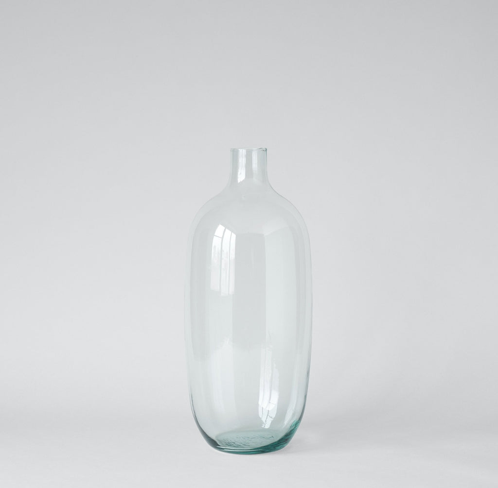 Simple Recycled Glass Vase - Bloomist
