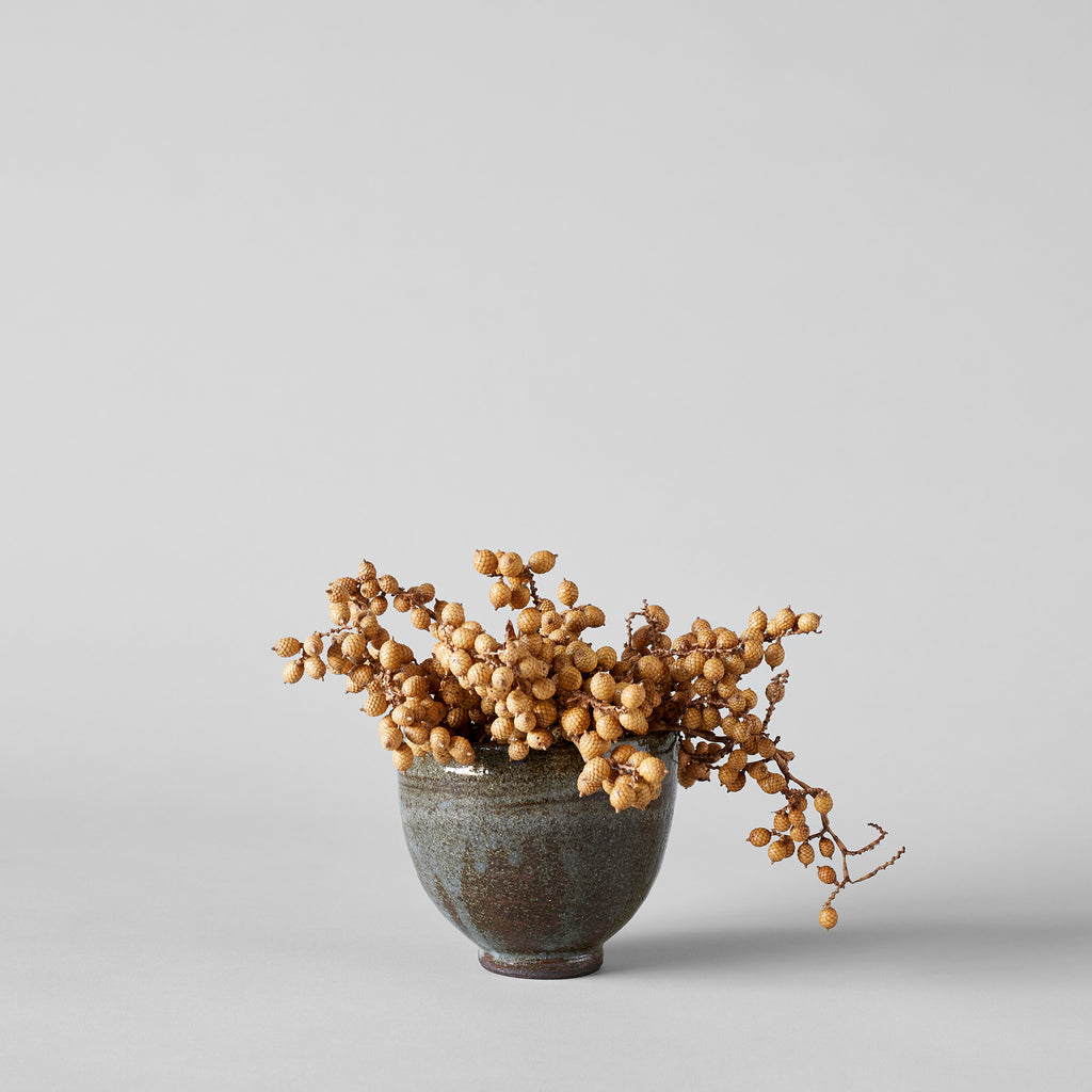 Rustic cup with glazed interior - Bloomist