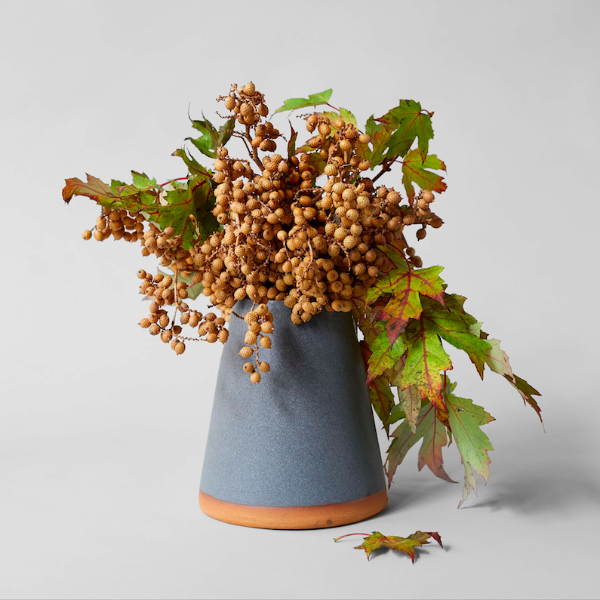 Dark Glazed Vase - Bloomist