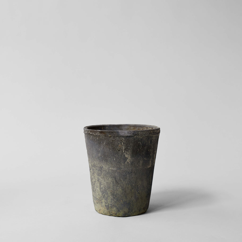 Rustic Grey Clay Pot - Bloomist