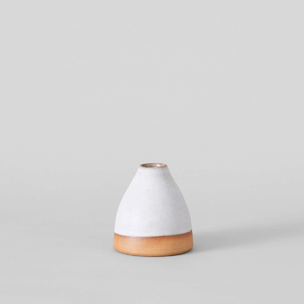 Small Glazed Bud Vase - Bloomist