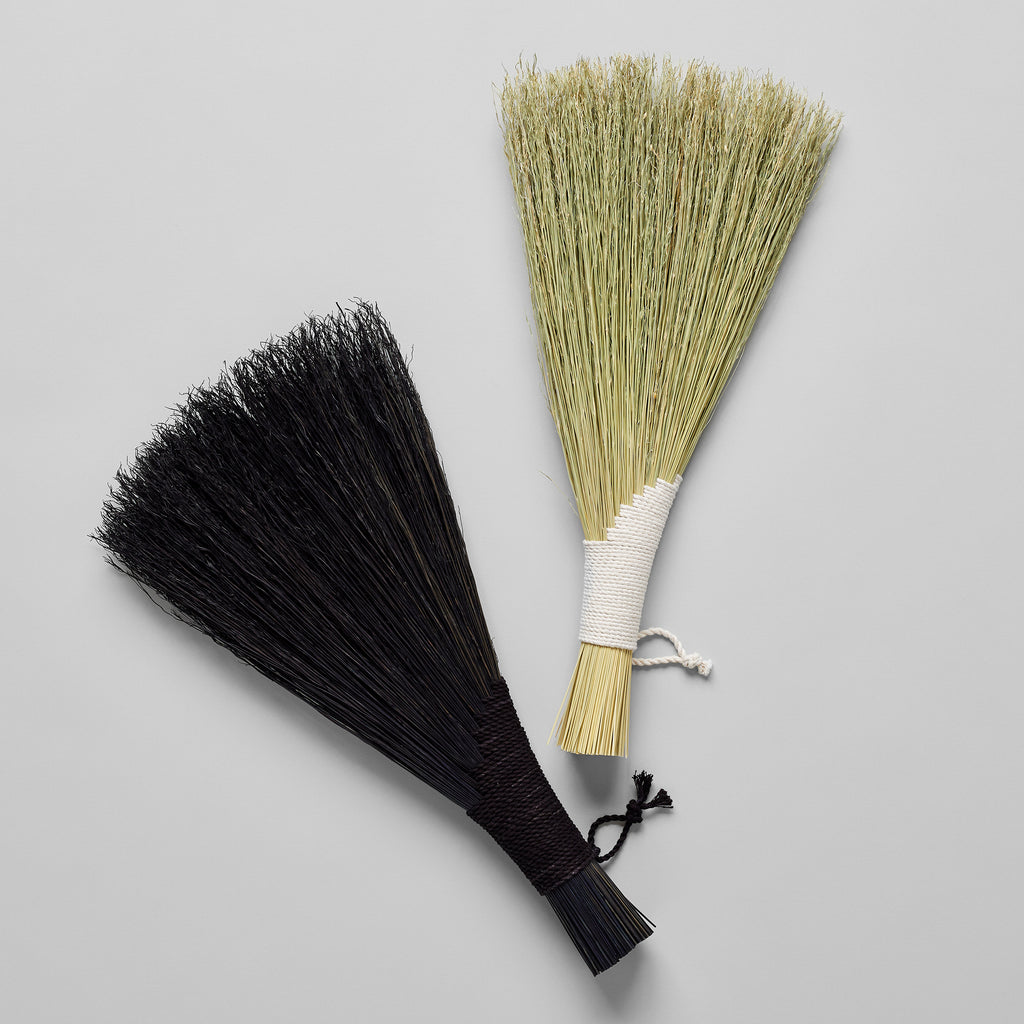 Wing Hand Broom, Black - Bloomist