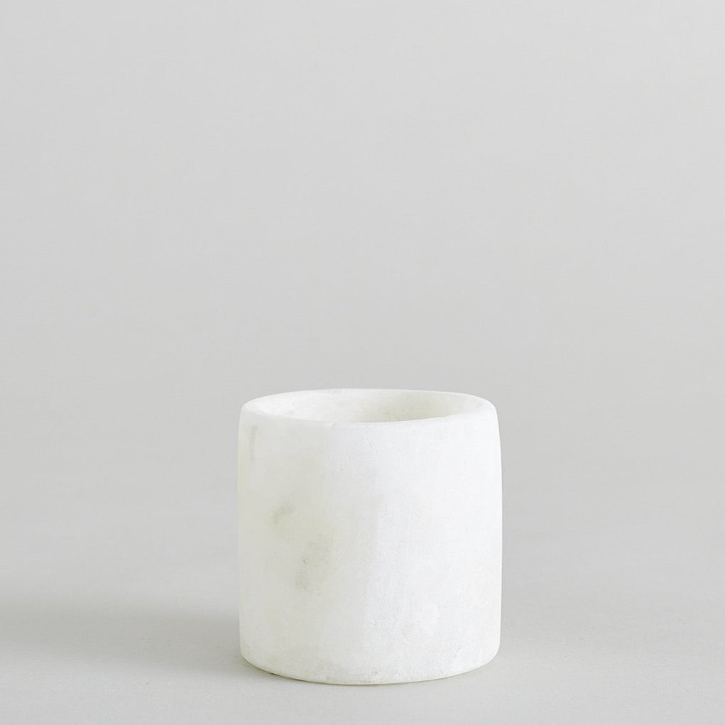 Round Alabaster Votives