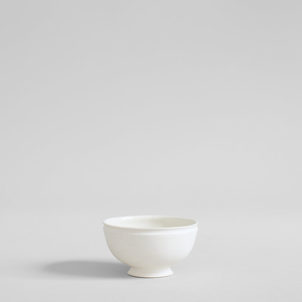 Small Footed Porcelain Bowl
