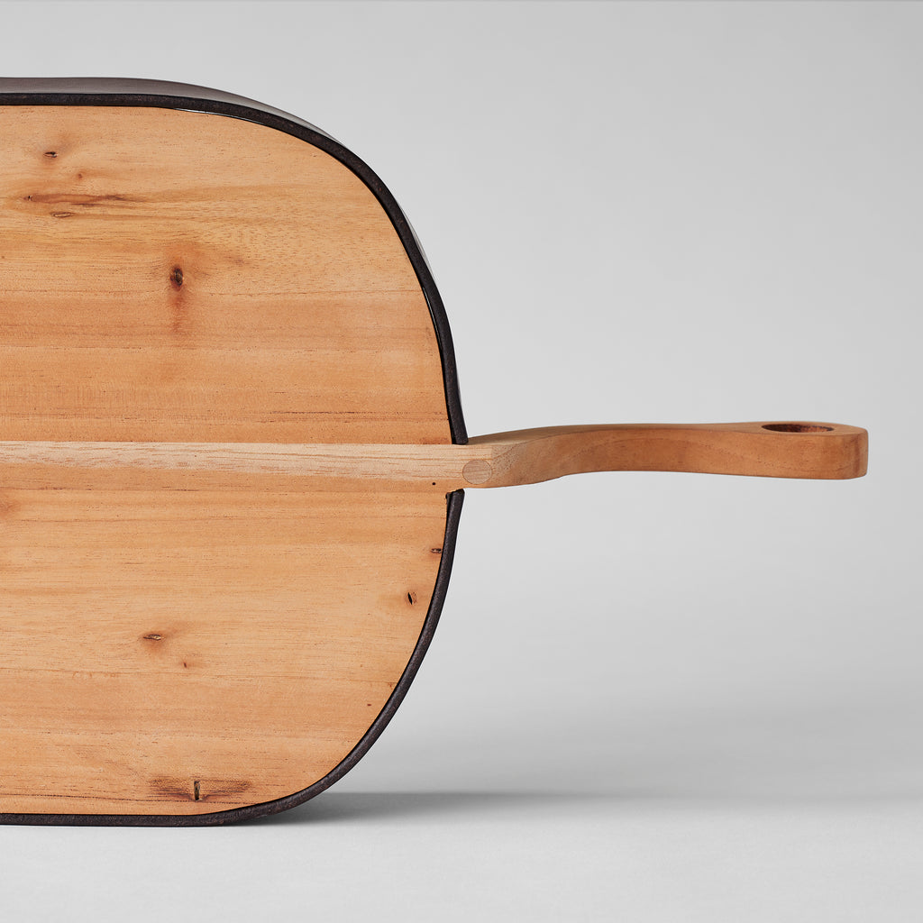 Wood & Leather Dustpan - Bloomist