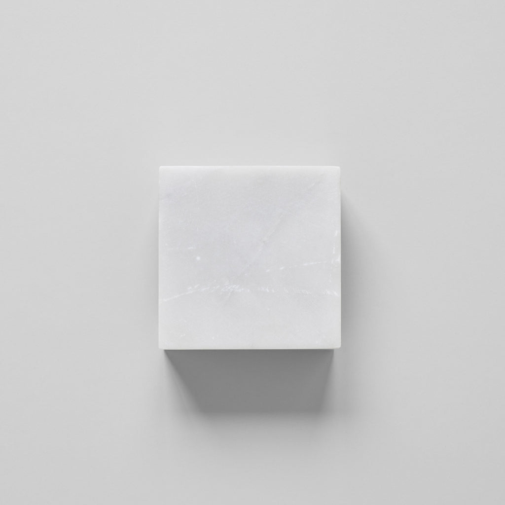 White Marble Sculpture Base - Bloomist
