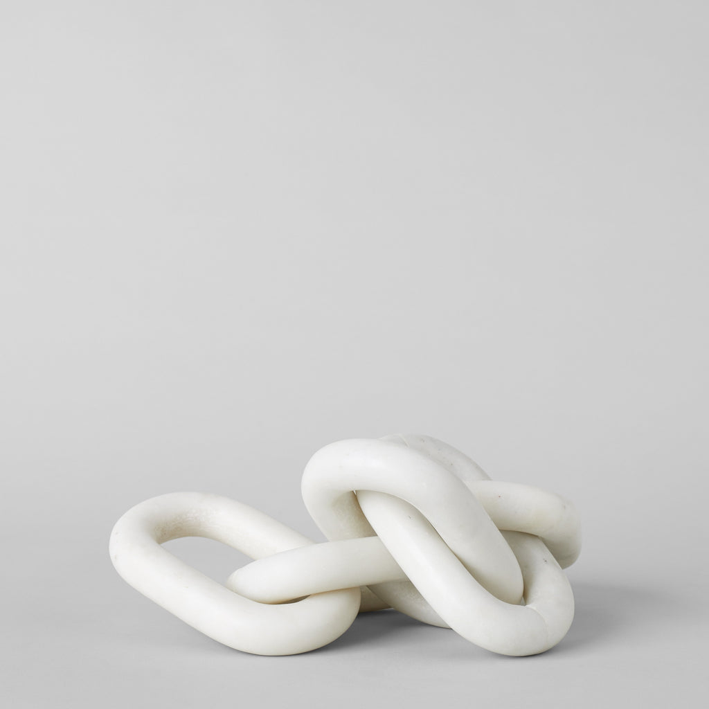 White Marble Chain, Small Link - Bloomist